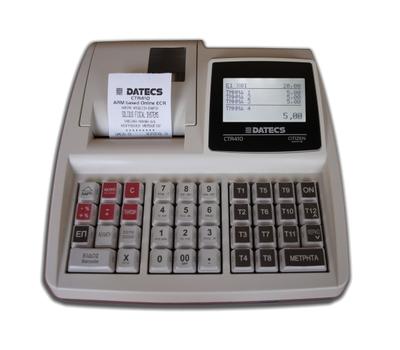 Ταμειακή Μηχανή PlusDatecs CTR410
