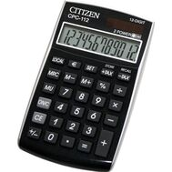 Αριθμομηχανή Citizen CPC 112 - Μαύρο Citizen