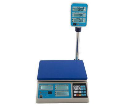 Ηλεκτρονικός Ζυγός Λιανικής Admate LPPN (15kg) με RS 232 Admate
