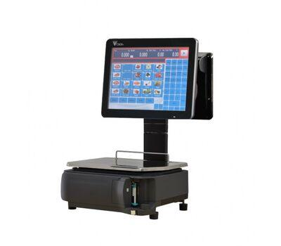 Ηλεκτρονικός ζυγός λιανικών πωλήσεων DIGI RM-5800EV 15″ DIGI