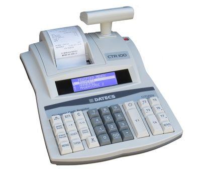 Ταμειακή Μηχανή Datecs CTR100 + Δώρο Παραμετροποίηση, Παράδοση ,Ρολλά ! Datecs