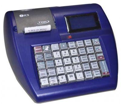 Ταμειακή Μηχανή ICS Top Μπλε + Δώρο Παραμετροποίηση, Παράδοση ,Ρολλά + 1 επιλογής ! ICS