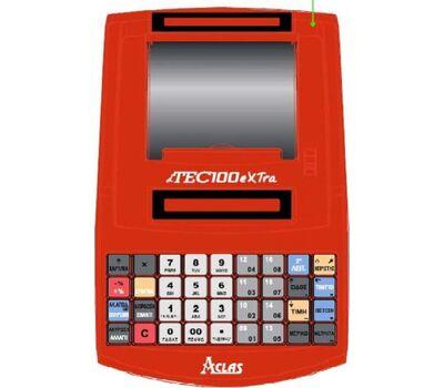 Ταμειακή Μηχανή Datatec Aclas dTEC-100xtra Red + Δώρο Παραμετροποίηση, Παράδοση ,Ρολλά ! Datatec
