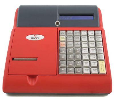 Ταμειακή Μηχανή Admate Sette Κόκκινη + Δώρο Παραμετροποίηση, Παράδοση ,Ρολλά ! Admate