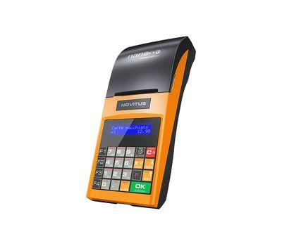 Ταμειακή Μηχανή Φορητή Novitus NANO Orange